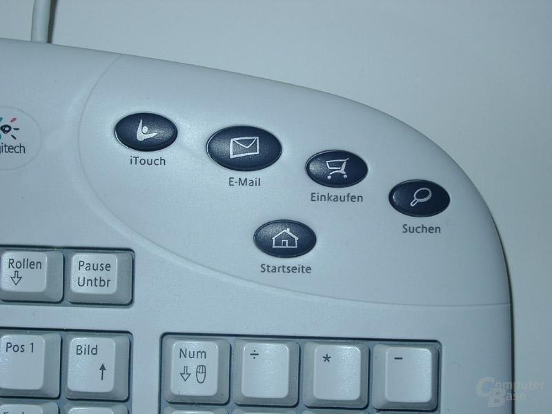 Logitech Internet Navigator Keyboard Hotkey rechts