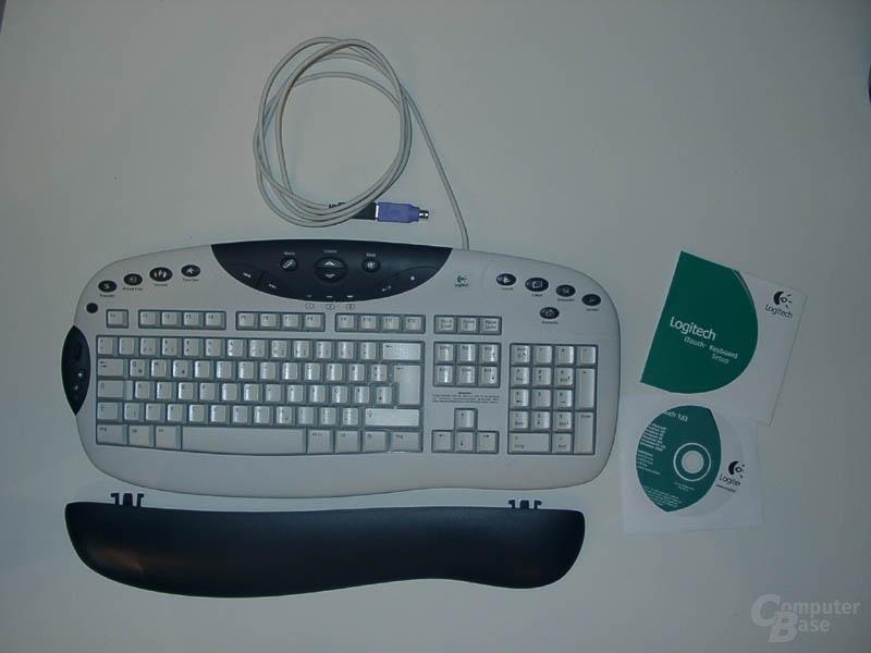 Logitech Internet Navigator Keyboard Lieferumfang