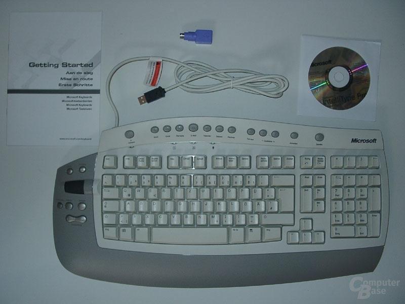 Microsoft Office Keyboard Lieferumfang