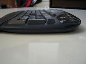 Flaches Design der Logitech Keyboards