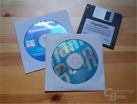 CDs + Treiberdiskette