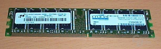 Crucial DDR333 CL2.5