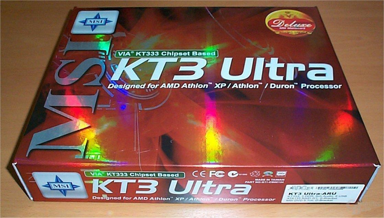 MSI KT3 Ultra Verpackung
