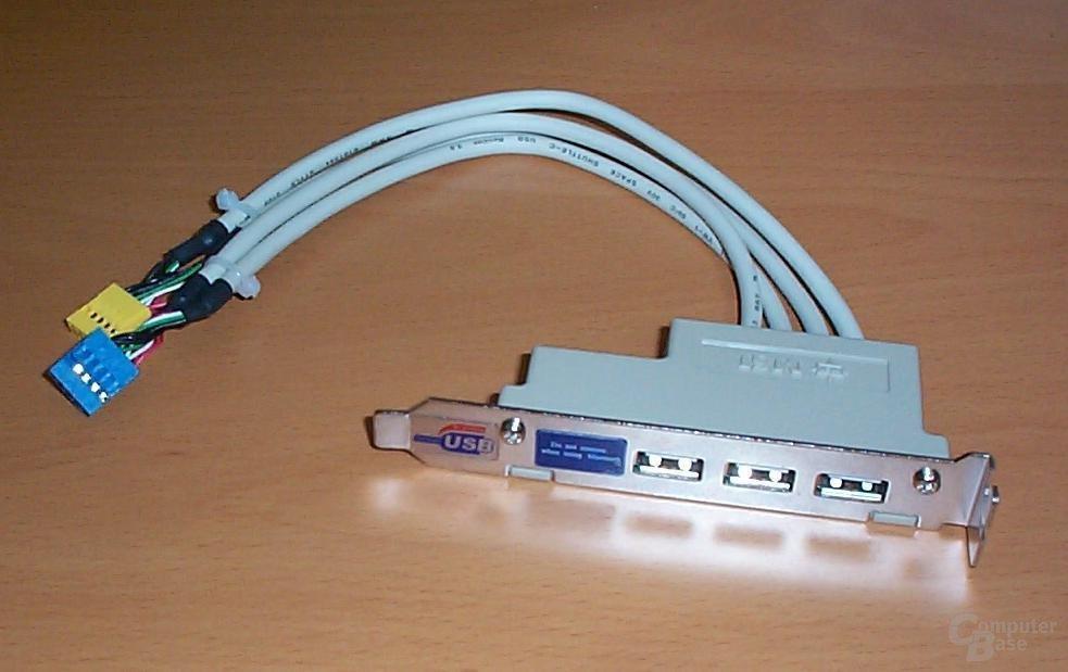 USB 2.0 Blende
