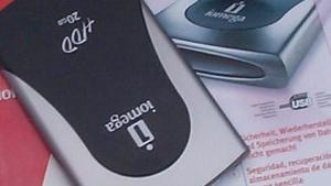 Iomega HDD 20 GB im Test: Externe Festplatte für USB 2.0