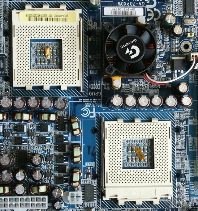 Gigabyte - Prozessor Umgebung