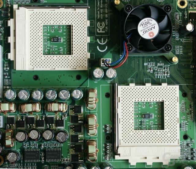 Epox - Prozessor Umgebung