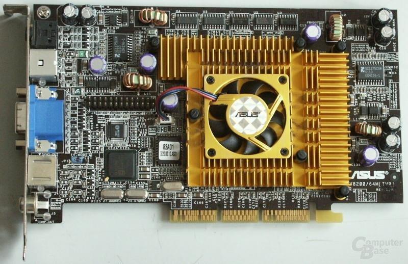 Grafikkarte - Asus V8200 Deluxe