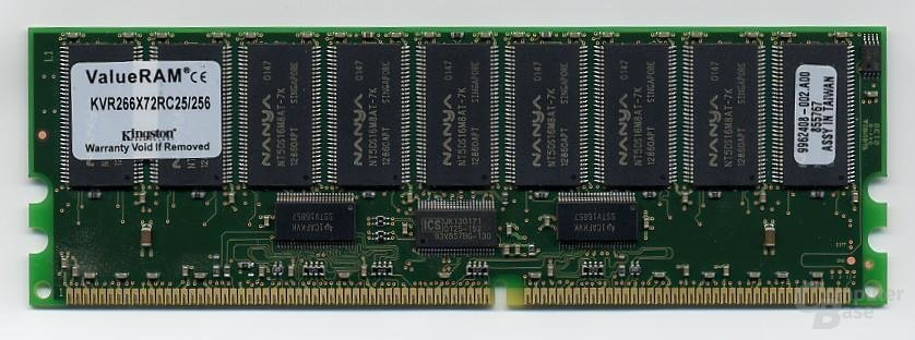 Kingston Reg. ECC DDR-Ram