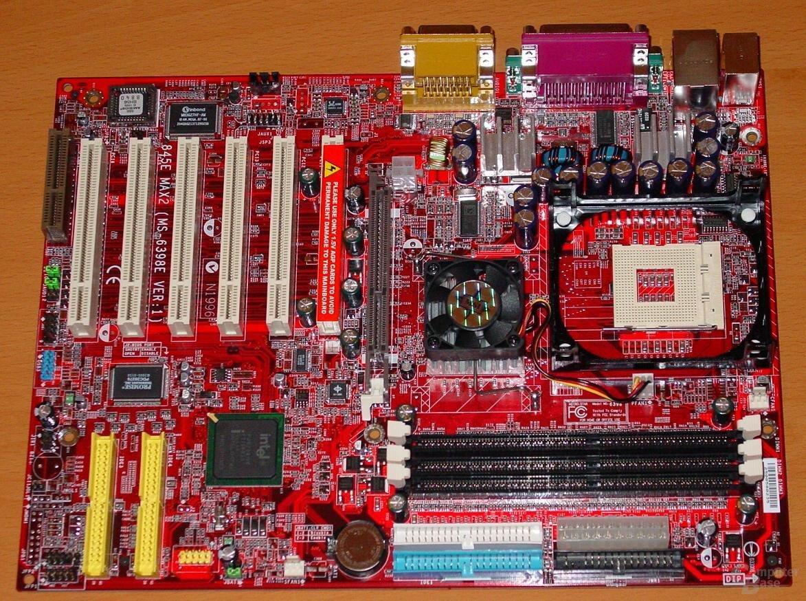 MSI Max2-BLR - Board