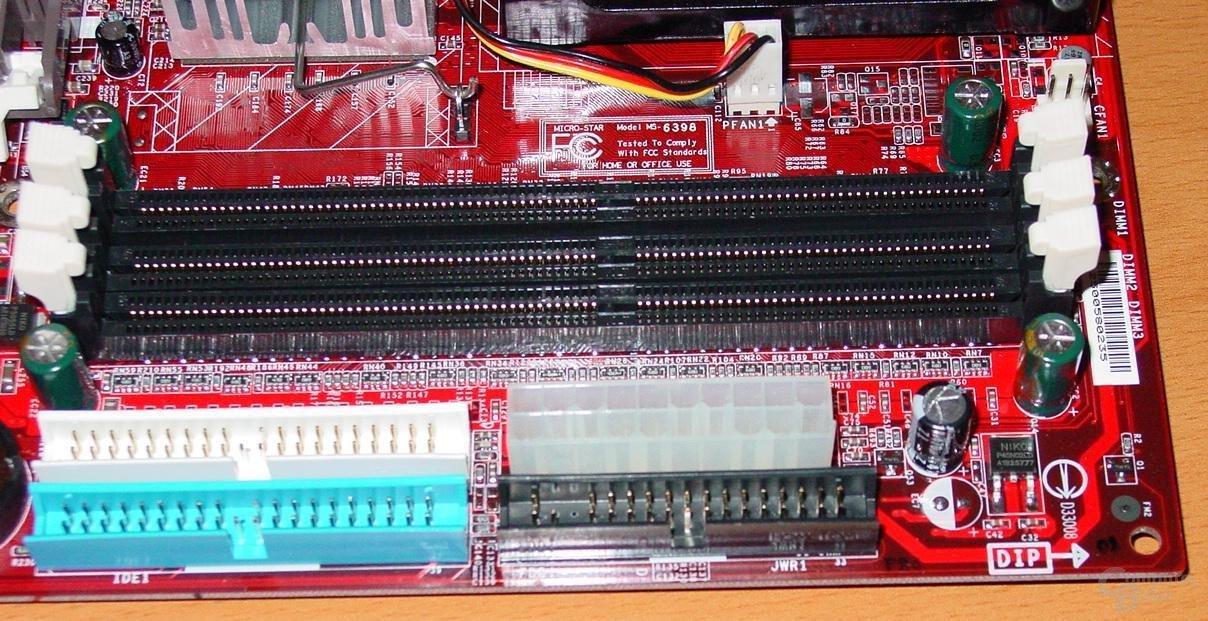 MSI Max2-BLR - IDE-Power-Anschlüsse