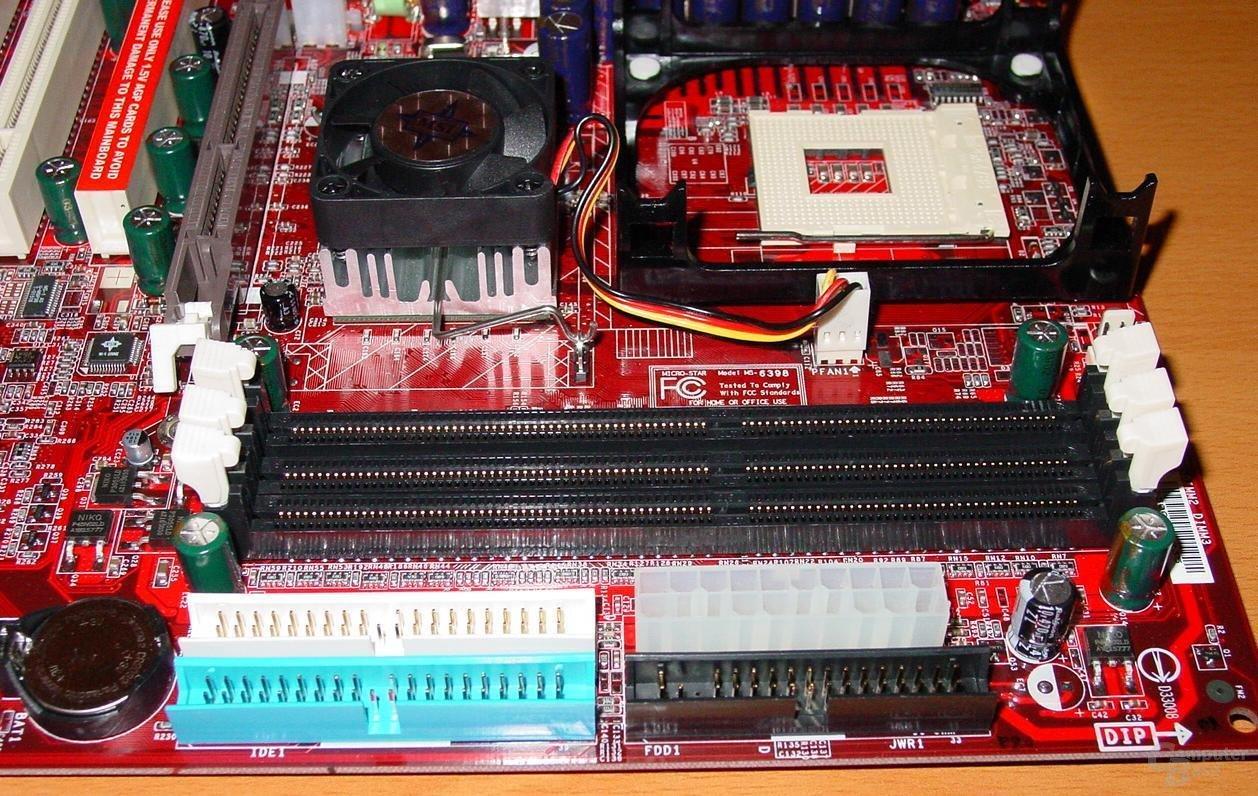 MSI Max2-BLR - IDE-RAM-Sockel-Kühler