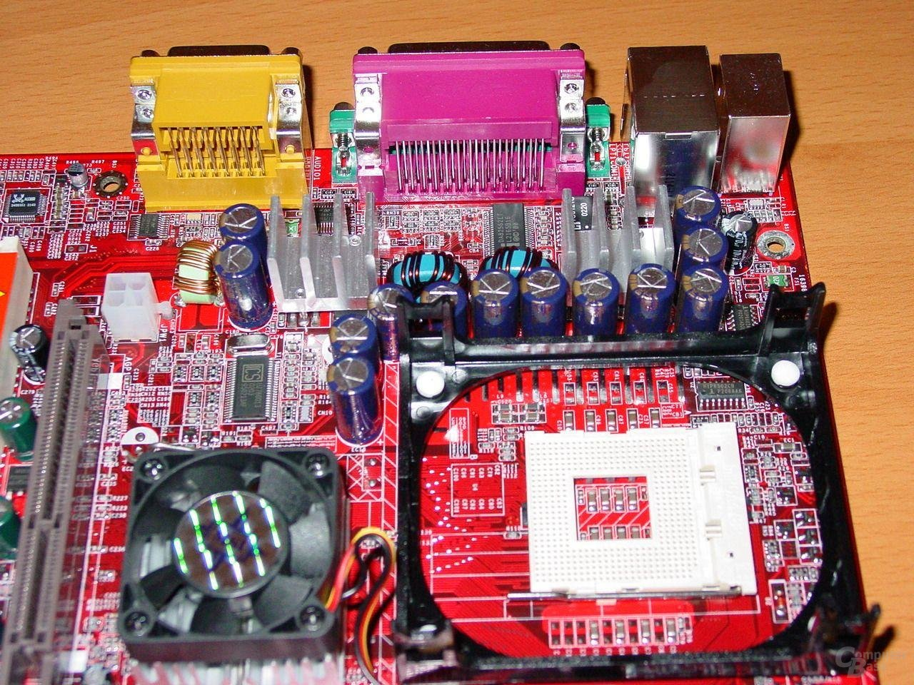 MSI Max2-BLR - Sockel und Lüfter