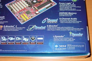 MSI Max2-BLR - Verpackung - back2