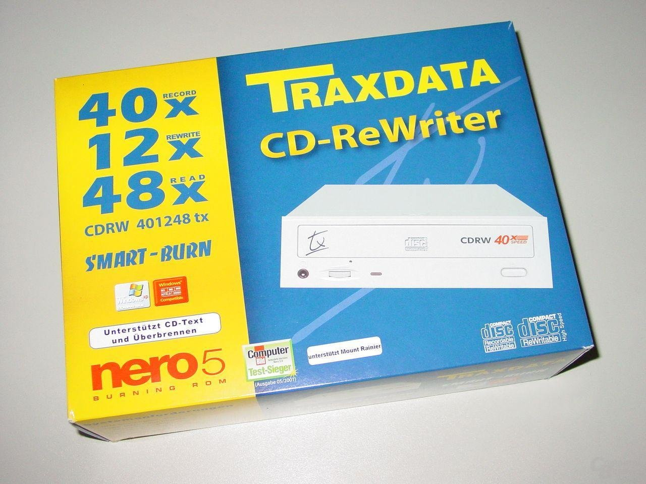 Verpackung CDRW 401248 tx