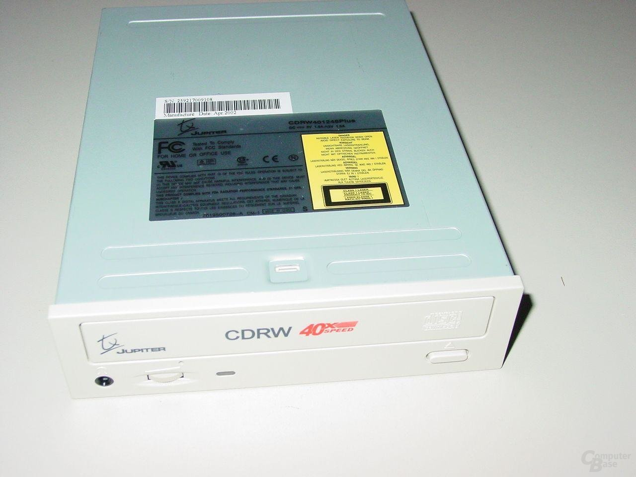 Draufsicht CDRW 401248 tx