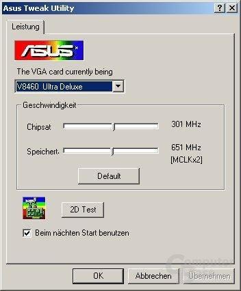 Asus Tweak Utility