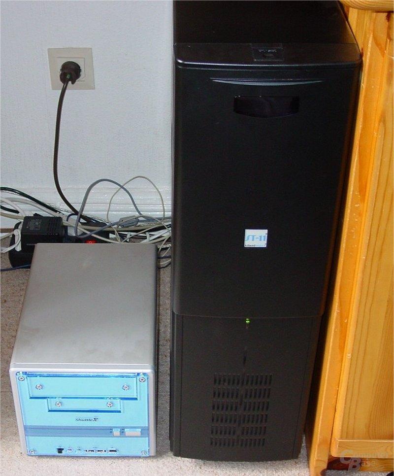 SS51G und Tower-PC im Vergleich