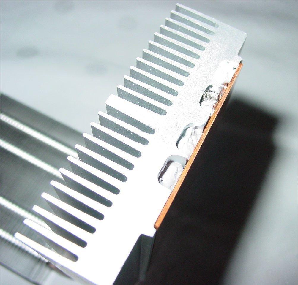 Kühlkörper mit Heatpipe