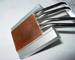 Kühlkörper mit Kupferplatte