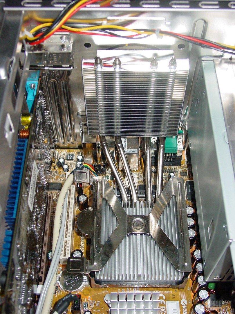Integrated Cooling Engine – Kühler montiert