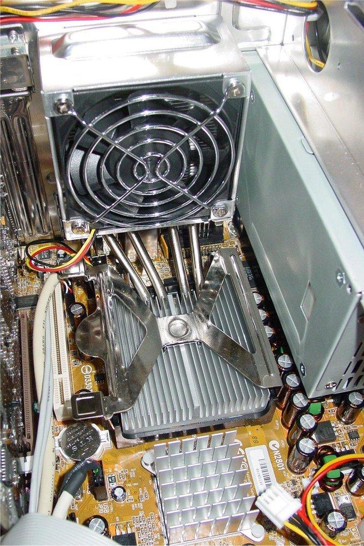 Integrated Cooling Engine – Kühler und Lüfter