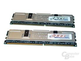 Mushkin PC3000 und PC3200