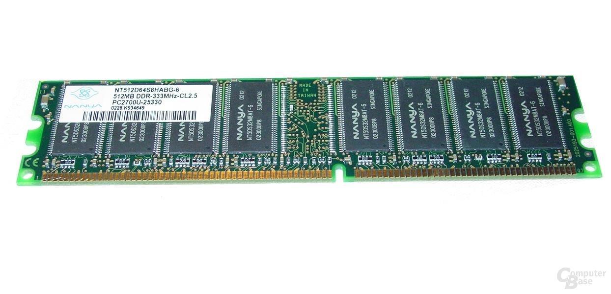 Nanya DDR333 512MB