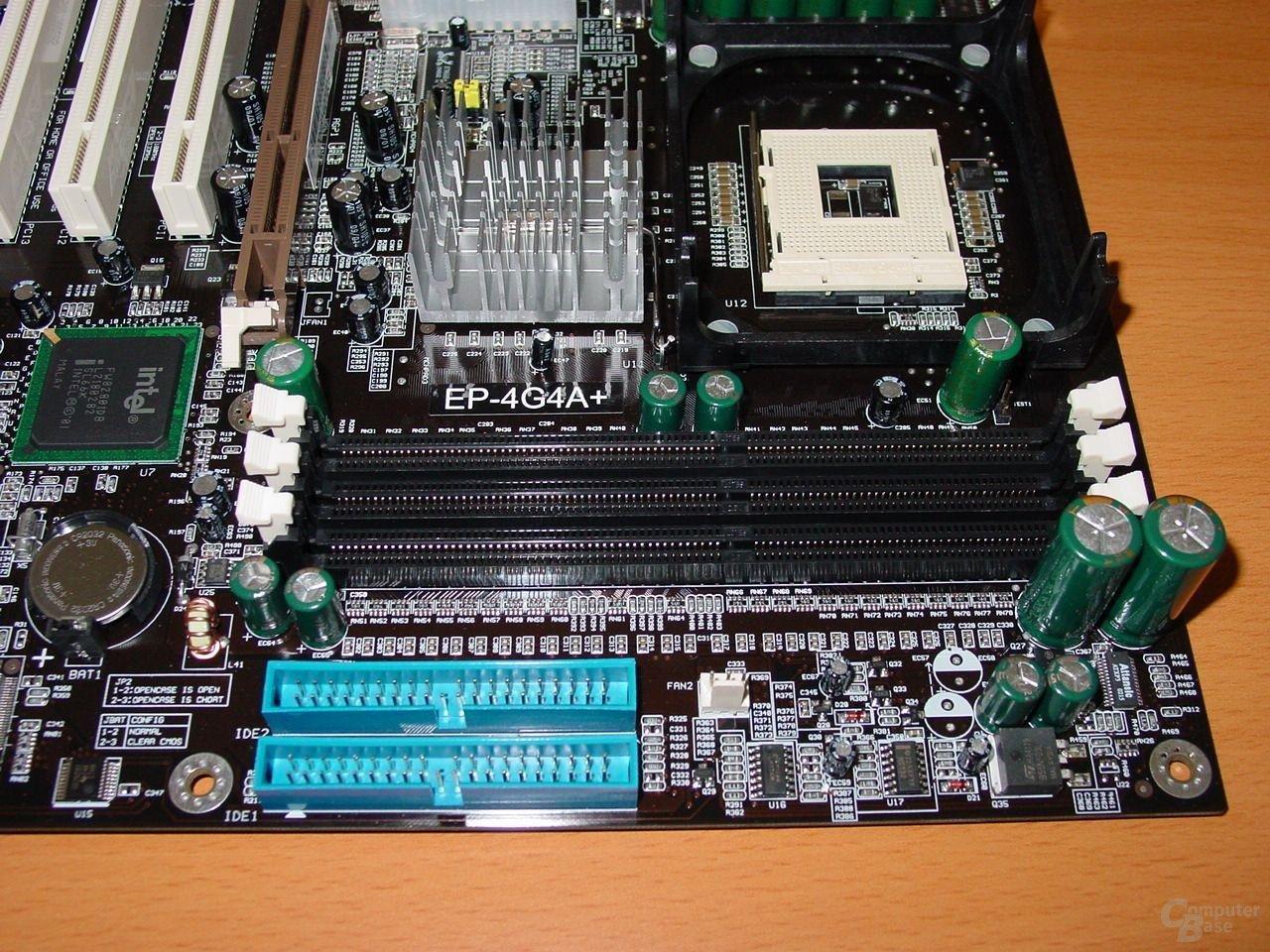 EP-4G4A+ IDE und RAM