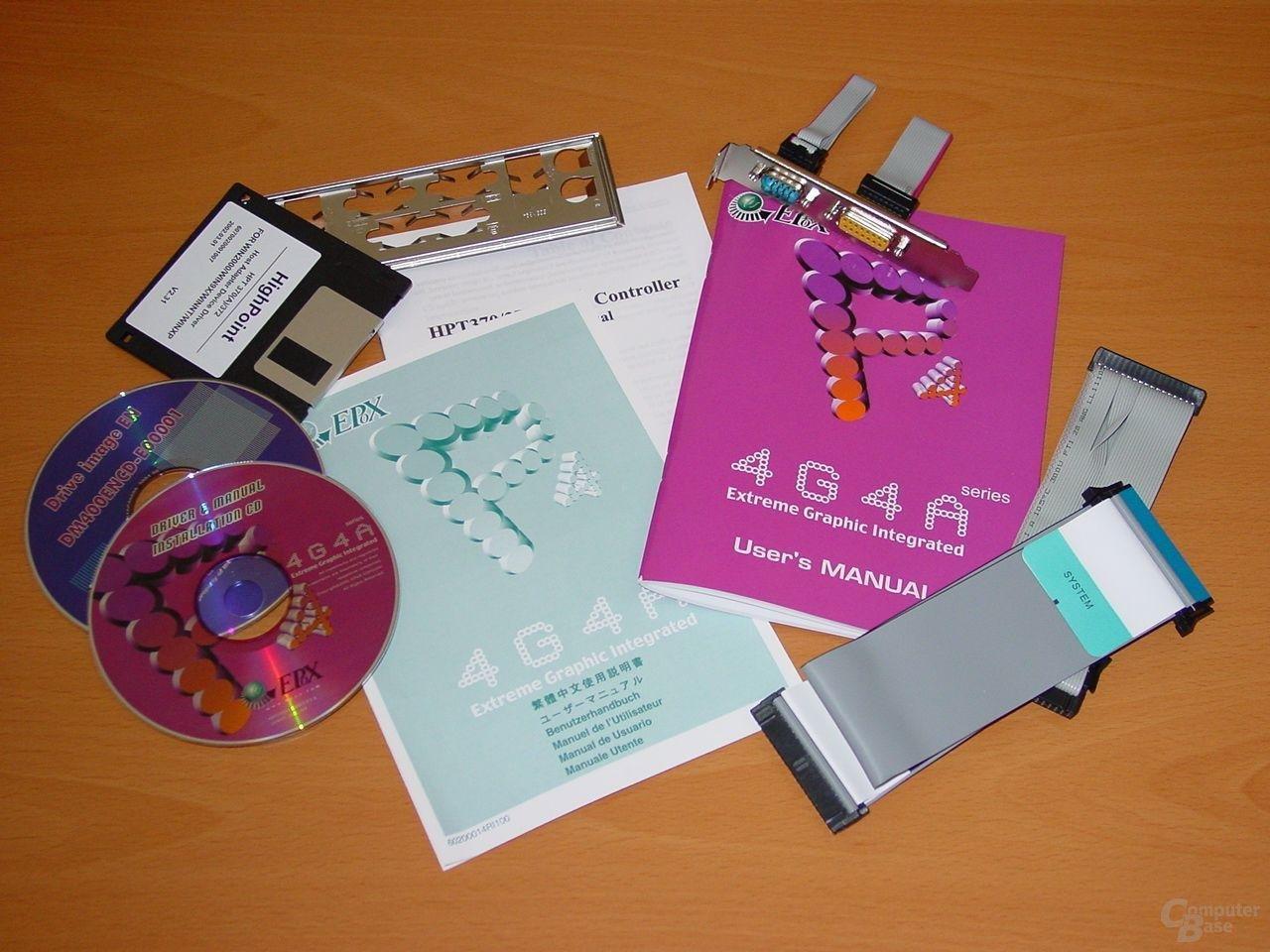 Lieferumfang inkl. Diskette