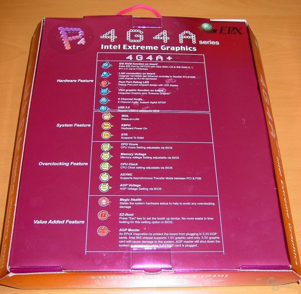 EP-4G4A+ Verpackung Rückseite