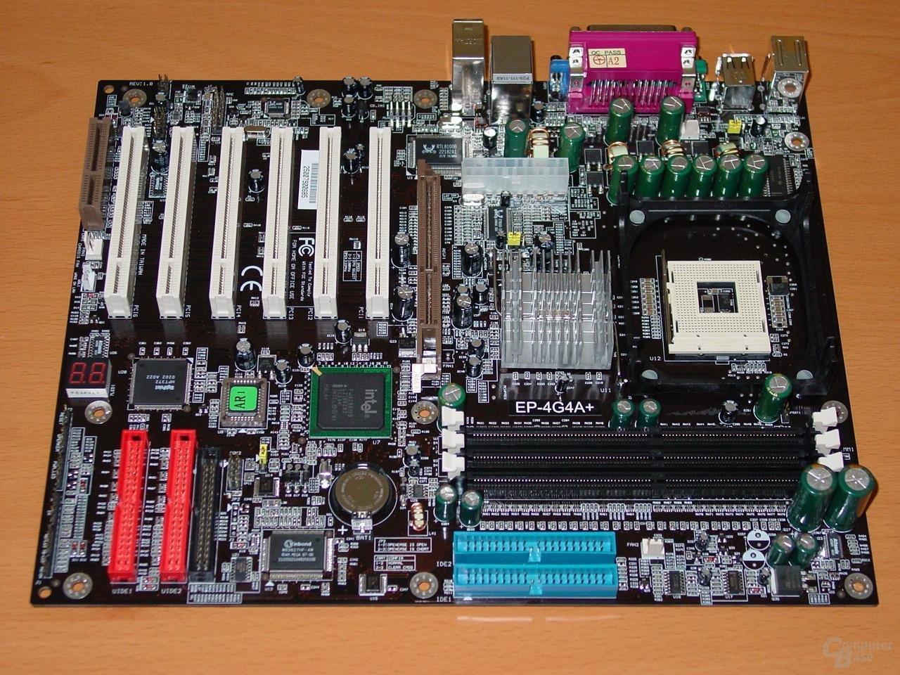 Das EP-4G4A+ mit Intel 845G