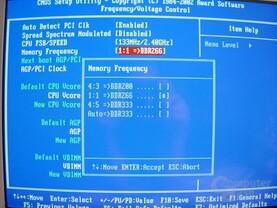 Bios - DDR333