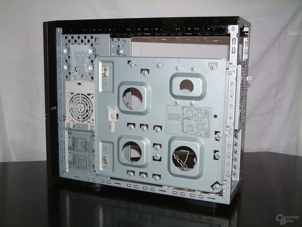 Rückseite Mainboardhalter