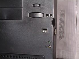 Detail: LEDs, Ein- Ausschalter