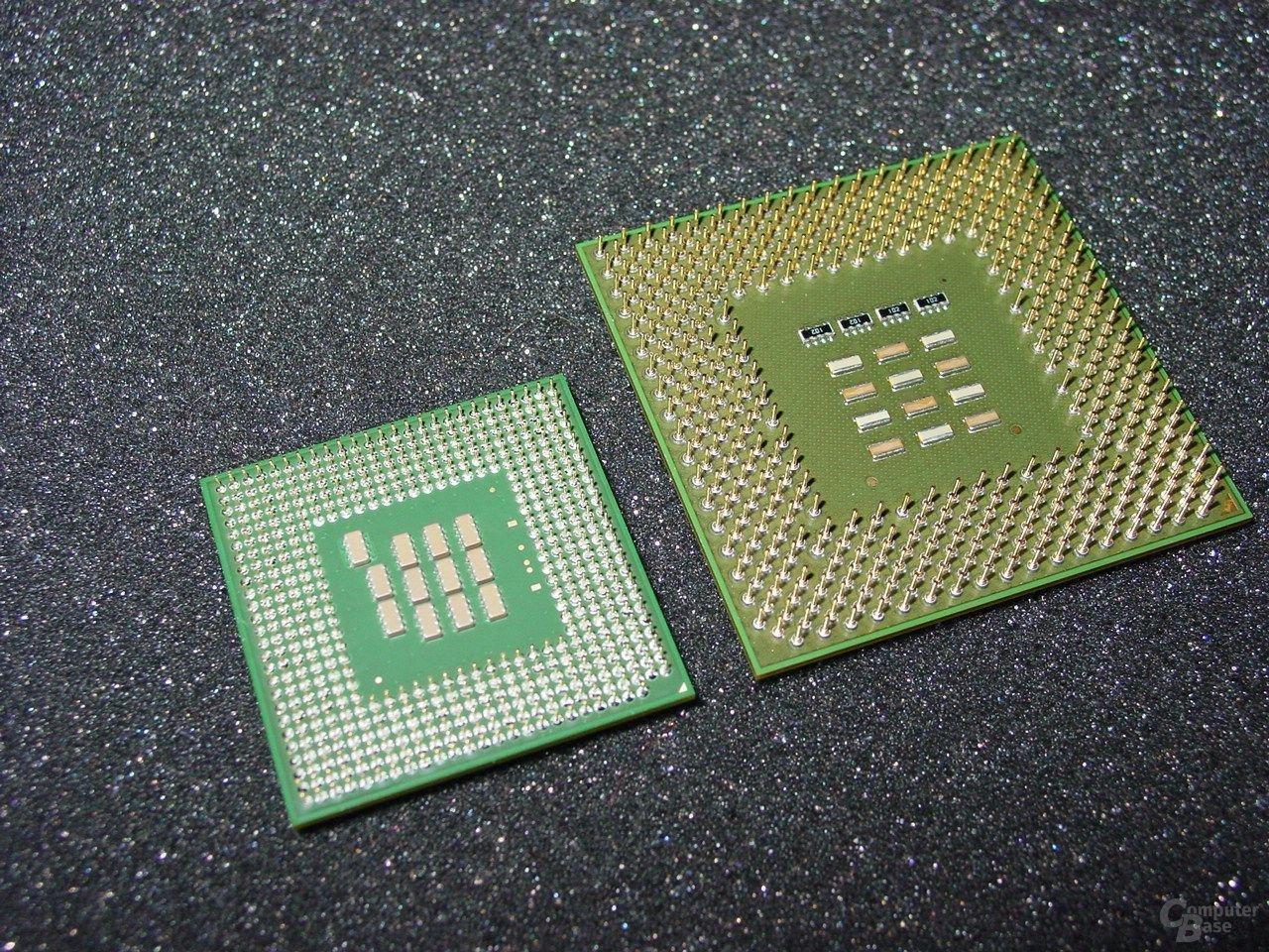 Pentium 4 vs Intel (Unterseite)