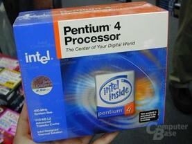 Verpackung vom Pentium 4 mit 2.5 GHz