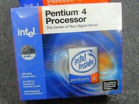 Verpackung vom Pentium 4 mit 2.66 GHz