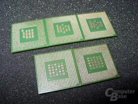 Intel Pentium 4 unter sich (unterseite)