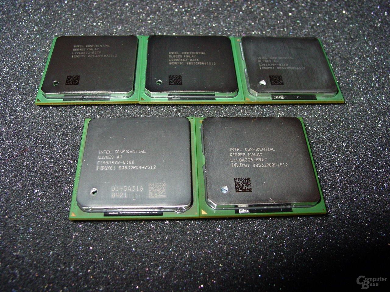 Intel Pentium 4 unter sich