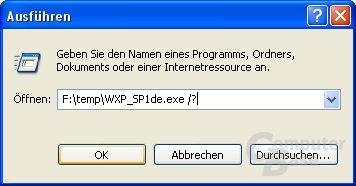 Hilfe-Funktion SP1