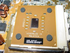 AMD Athlon XP  2200+ mitThoroughbred Kern im Sockel