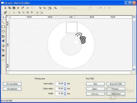 Erstellen einer DiscT@2 CD - Schritt 2