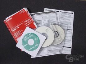 Dokumente und Rohlinge Yamaha CRW-F1