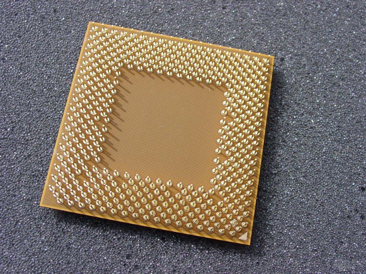 Athlon XP 2700+ von Unten