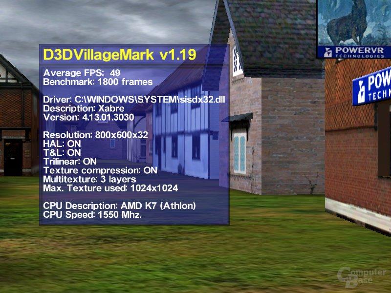 Xabre TTex0 Villagemark