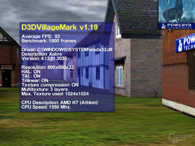 Xabre TTex1 Villagemark