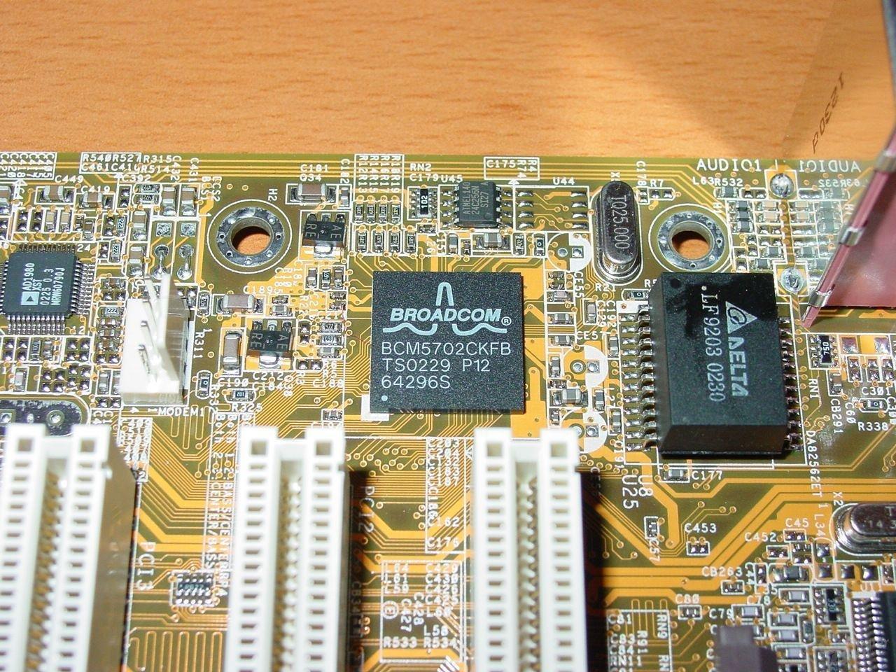 Broadcom Gigabit LAN