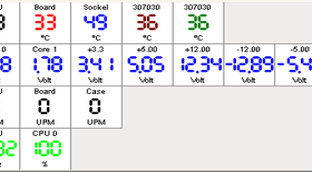 PC2-601BW XP1800+@1632 (FSB136, Multi=12), ein Gehäuselüfter