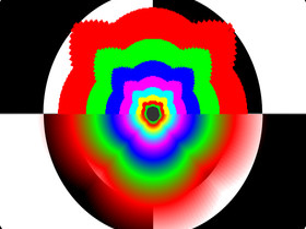 Vergleich 2×AF R9000 (o) GeFoce3 (u)